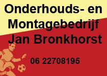 Onderhouds en Montagebedrijf Jan Bronkhorst